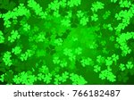 green clovers background