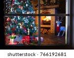 Christmas Home Interior With...
