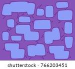cartoon comic bubble  speech...   Shutterstock .eps vector #766203451