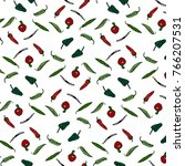 the mexican chiles    Shutterstock . vector #766207531
