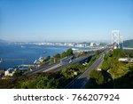 japan  fukuoka  kanmon bridge   Shutterstock . vector #766207924