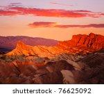 The Manley Peak Ablaze With...