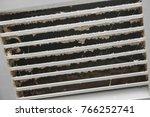 dirty air ventilator full of...   Shutterstock . vector #766252741