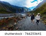 franz josef glacier new zealand ...   Shutterstock . vector #766253641