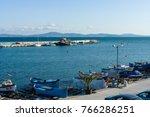 pomorie  bulgaria   august 26 ... | Shutterstock . vector #766286251