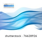 vector awesome abstract blue...