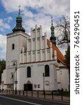 Church In Lublin. Poland