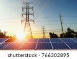 clean power energy concept....   Shutterstock . vector #766302895