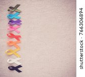 Colorful Ribbons  Cancer...