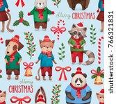watercolor illustrations of... | Shutterstock . vector #766321831