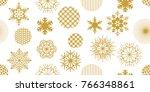 abstract festive christmas... | Shutterstock .eps vector #766348861