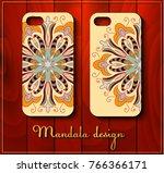 phone case design. set...   Shutterstock .eps vector #766366171