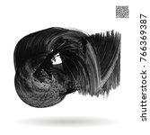 grey brush stroke and texture....   Shutterstock .eps vector #766369387