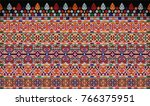 close up the pattern of... | Shutterstock . vector #766375951