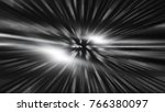 fractal explosion star with... | Shutterstock . vector #766380097