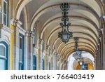 detail of ana arcade... | Shutterstock . vector #766403419
