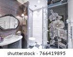 russia  moscow   modern... | Shutterstock . vector #766419895