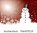 abstract christmas background.   Shutterstock . vector #766429219