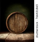 background of barrel and worn... | Shutterstock . vector #766431865