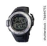 smart sport  wristwatch the ...   Shutterstock . vector #76644751