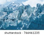 close up of a distinctive ice... | Shutterstock . vector #766461235