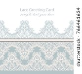 vintage luxury lace background... | Shutterstock .eps vector #766461634