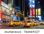new york city   november 23 ... | Shutterstock . vector #766469227