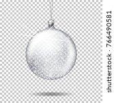 vector realistic transparent... | Shutterstock .eps vector #766490581