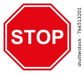 stop sign is a traffic sign