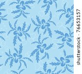 floral seamless texture with... | Shutterstock . vector #76653157