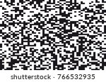 abstract black and white vector ... | Shutterstock .eps vector #766532935