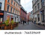 riga latvia 09 17 2015  vecriga ... | Shutterstock . vector #766539649