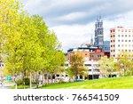 cityscape or skyline of... | Shutterstock . vector #766541509