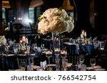 classy wedding setting.table...   Shutterstock . vector #766542754