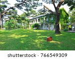nostalgic architecture in the...   Shutterstock . vector #766549309