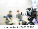 camera show viewfinder image... | Shutterstock . vector #766552135
