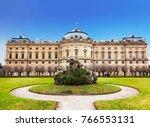 the wurzburg residence in... | Shutterstock . vector #766553131