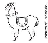 vector illustration of cute... | Shutterstock .eps vector #766556104