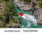 arthurs point  queenstown  jet... | Shutterstock . vector #766558984