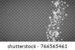 blizzard snowflakes on... | Shutterstock .eps vector #766565461
