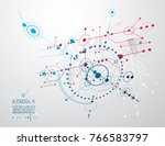vector industrial and... | Shutterstock .eps vector #766583797