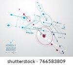 engineering technology vector... | Shutterstock .eps vector #766583809