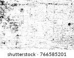 grunge black and white pattern. ... | Shutterstock . vector #766585201