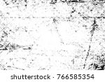 grunge black and white pattern. ... | Shutterstock . vector #766585354