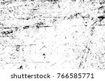 grunge black and white pattern. ... | Shutterstock . vector #766585771