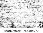 grunge black and white pattern. ...   Shutterstock . vector #766586977