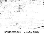 grunge black and white pattern. ... | Shutterstock . vector #766595809