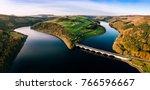Aerial Panorama Of Ladybower...