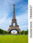 the eiffel tower in paris | Shutterstock . vector #76660627