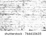 grunge black and white pattern. ... | Shutterstock . vector #766610635